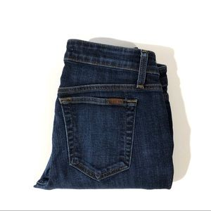 Joe's Jeans Low Rise Skinny Ankle Dark Wash Jeans